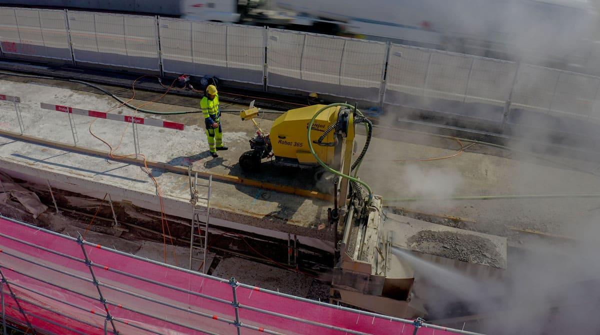 Actions sur un chantier