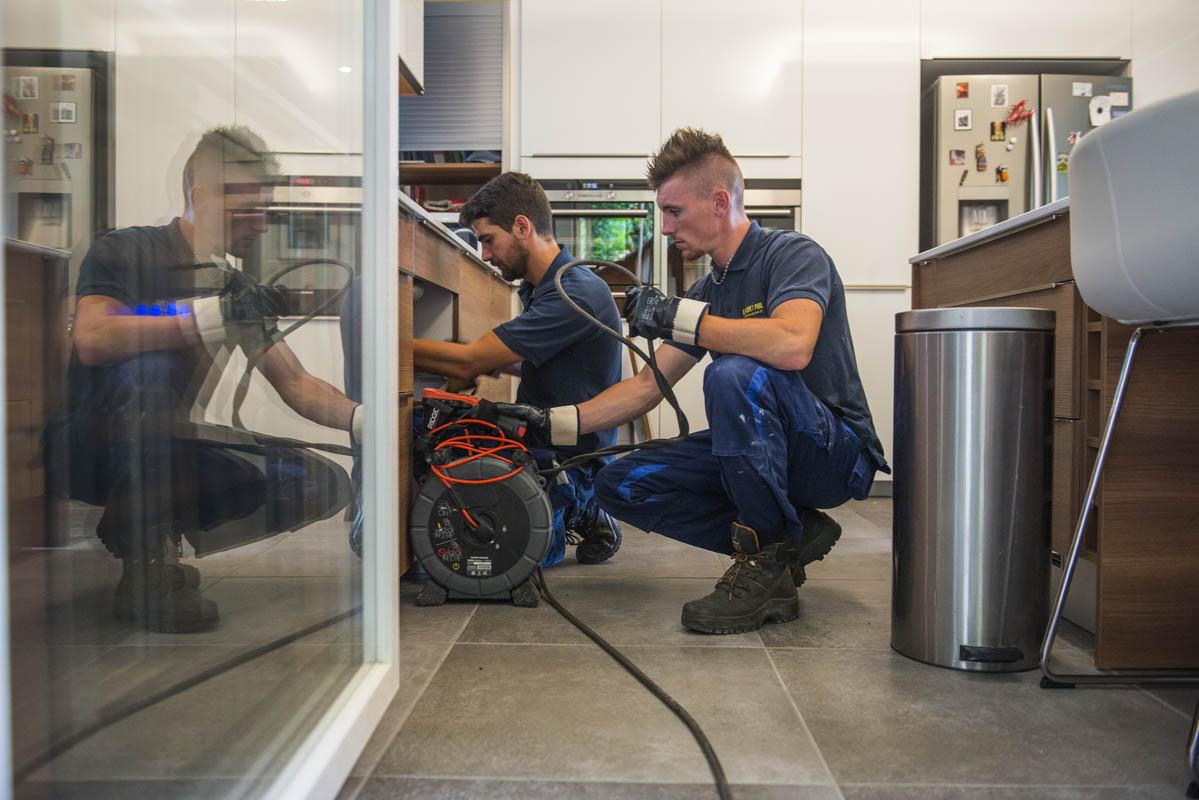 Réparation sanitaires